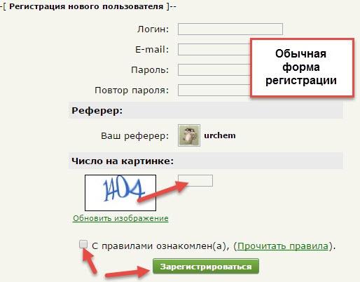 web-ip форма заполнения