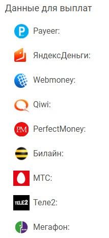 advprofit различные платежные системы