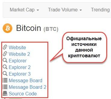 kurs kriptovalut с официальных источников