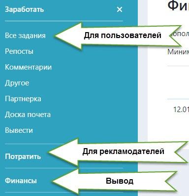 freezvoni-возможностью выбора понравившейся категории